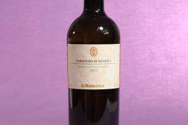 vino verdicchio di matelica annata 2013 da 750 millilitri dell'azienda agricola La Monacesca