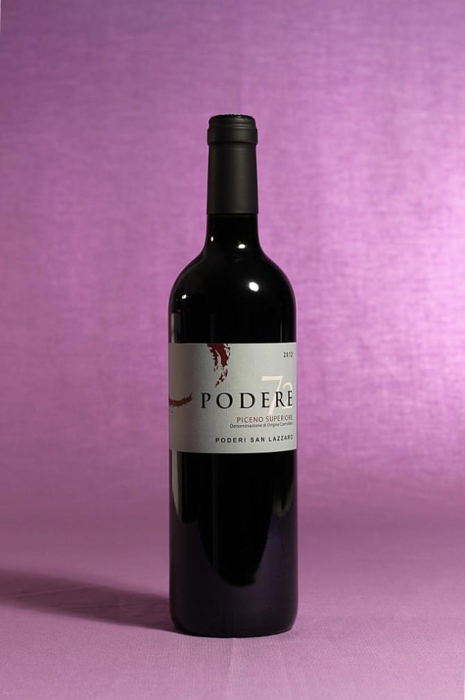 vino podere 72 da 750 millilitri dell'azienda agricola Poderi San Lazzaro di Offida