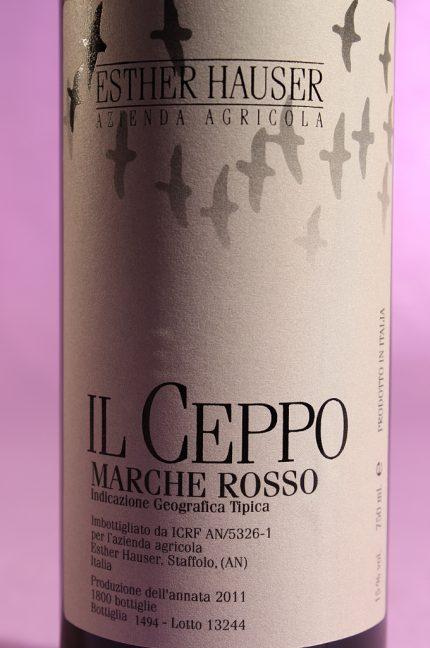 etichetta del vino il ceppo 2011 da 750 millilitri dell'azienda agricola Esther Hauser