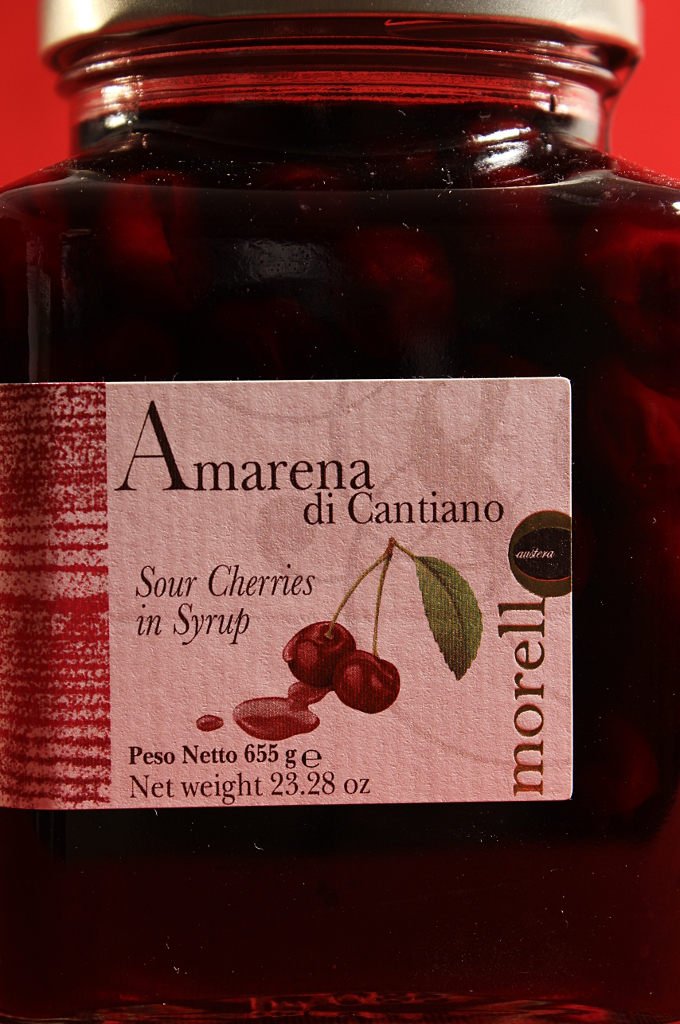 Confezione di Amarene di Cantiano di Morello Austera