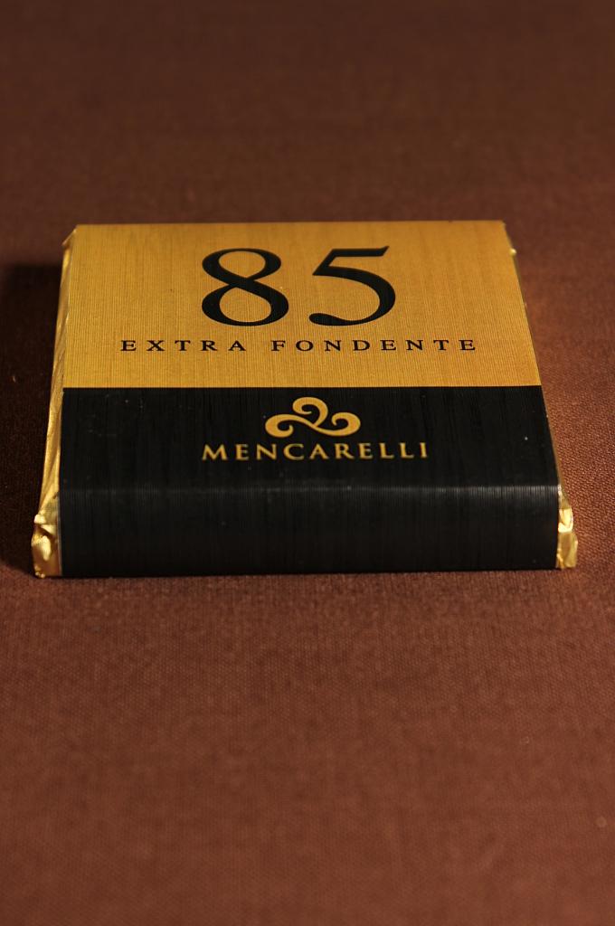 Tavoletta 50g cioccolato extra fondente 85% - Paolo Mencarelli
