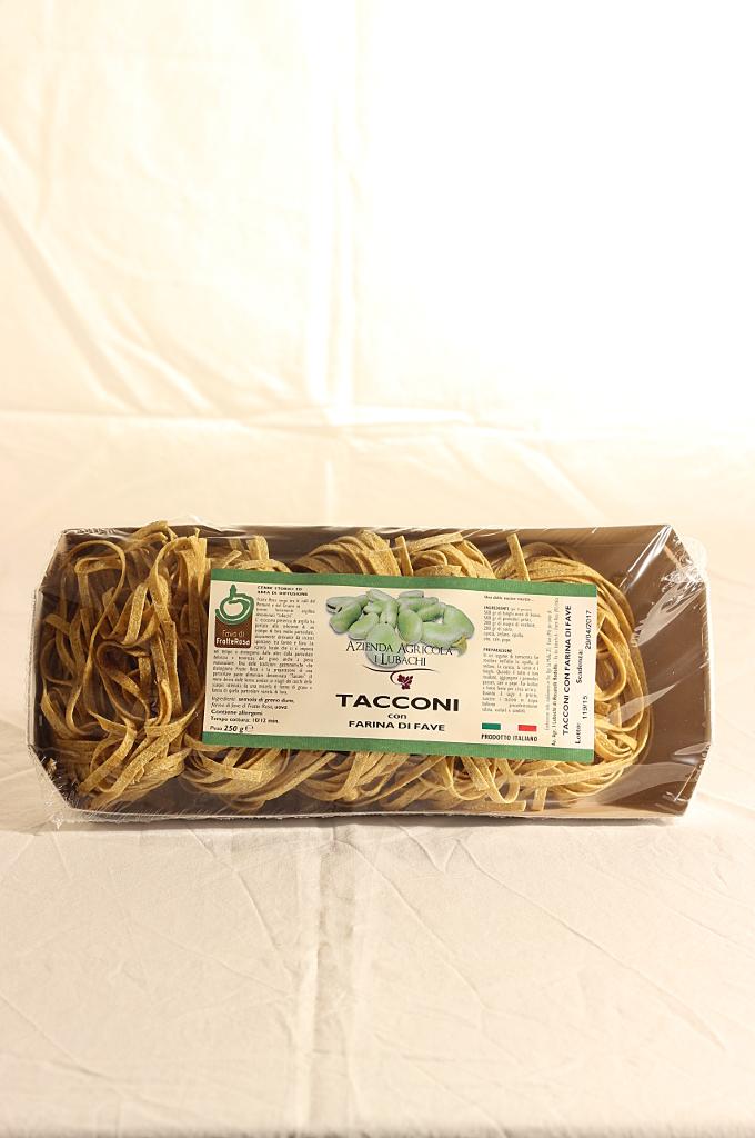 Tacconi con farina di fave 250g - Az. I Lubachi
