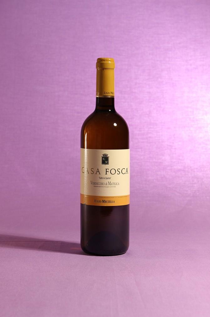 vino Casa Fosca 2013 Verdicchio di Matelica DOC prodotto dall'Azienda Agricola Enzo Mecella