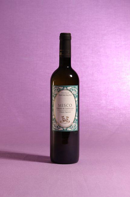Misco 2014 Verdicchio dei Castelli di Jesi Classico Superiore della Tenuta di Tavignano in bottiglia da 750 ml